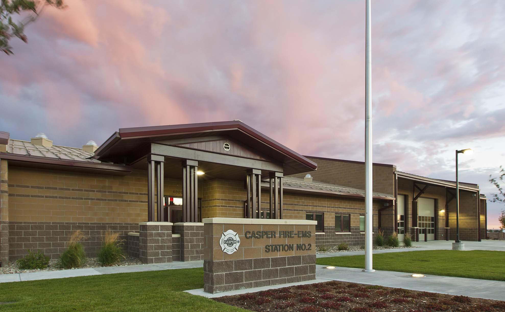 Fire Station Casper Wyoming